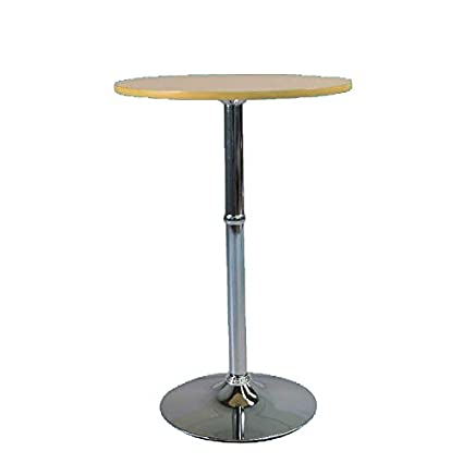 Cozyhomz Bar Table Round Jully - Oak