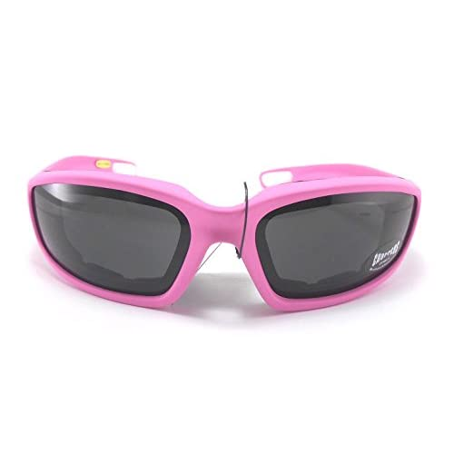 high quality goggles  high-quality Choppers Womens Pink Padded Motorcycle Biker Glasses ...