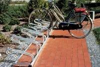 Fahrrad-Reihenständer EMSLAND, 3x Standard   3x Mountainbike