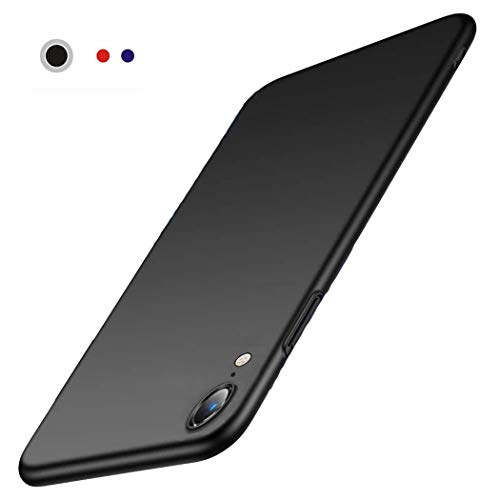 ZJou Slim Fit iPhone XR Case, Ultra Thin Hard Plastic Full Protective Anti-Scratch Shock Absorption Cover Case with Matte Finish Grip Phone Case for iPhone XR 6.1