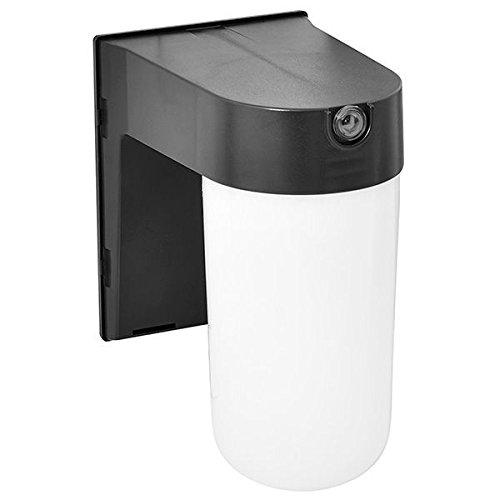 12 Watt LED Security Light with Photocell Sensor 4000K Cool White 120V Amax Lighting LED-SLC12BZ
