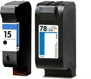 Compatible Cartridge Copier (AIM Compatible Replacement - HP Compatible NO. 15/78 Inkjet Combo Pack (Black/Color) (C8789FN) - Generic)