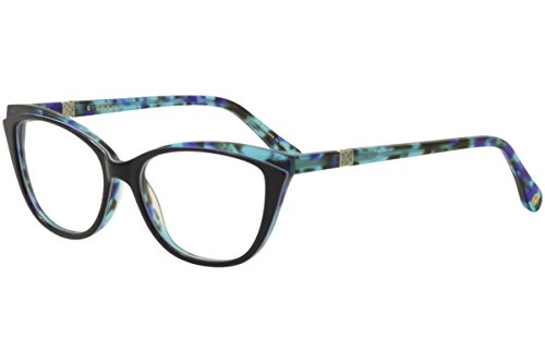 Lilly Pulitzer Women's Eyeglasses Bentley NV Navy/Green Tort Optical Frame ()