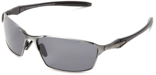 Pepper's Nevada MP379-4 Polarized Oval Sunglasses,Silver,One size (Sunglasses Pepper Polarized)
