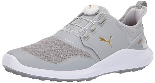 Puma Golf Men's Ignite Nxt Disc Golf Shoe high Rise Team Gold-Puma White, 11 M US (Size Puma 11 Golf Shoes)