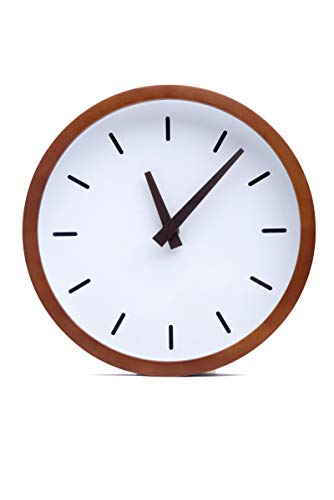 Driini Modern Wood Analog Wall Clock (9