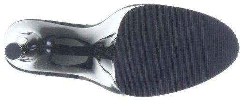 Pleaser EU-FLAMINGO-801 - Sandalias de material sintético mujer transparente - Transparent (Clr/blk)