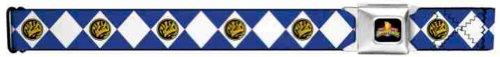 Power Rangers Seatbelt Belt - Mighty Morphin Power Rangers Blue Ranger - Power Weapons Morphin Rangers Mighty