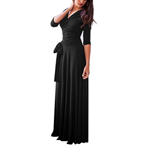 orange and black formal dresses - 7