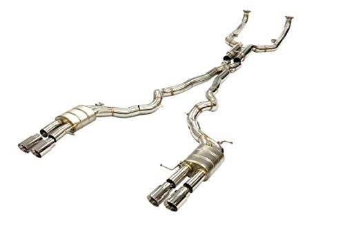 OBX Stainless Performance Catback 11-16 BMW F10 M5 4Dr. 4.4L V8 Twin Turbo Exhaust System ()