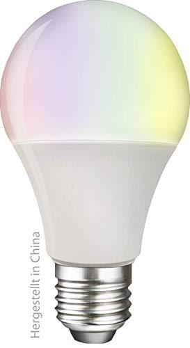 swisstone Smart Wifi LED-lamp, E27 (806 lumen, 9 Watt) LED Multicolor (RGB), spraakgestuurd, compatibel met app, werkt…