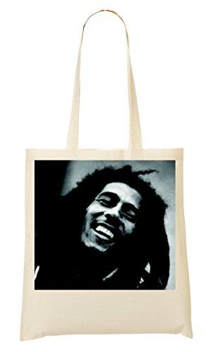 Bob Marley Portrait Black White Bolso De Mano Bolsa De La Compra