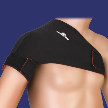 Thermoskin Shoulder Supports - Single Sports, Black, XS, Chest Circ: 33