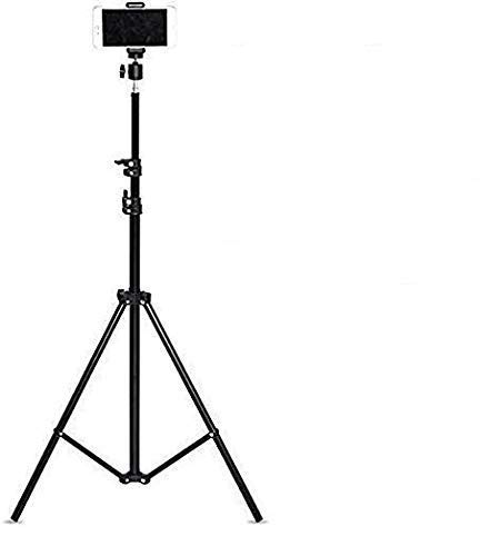 HIFFIN® Combo Light Weight Flexible Gorilla Tripods for DSLR & Action Cameras (Tripod Kit with 9 Ft Light Stand, Tripod Kit with 9 Ft Light Stand)