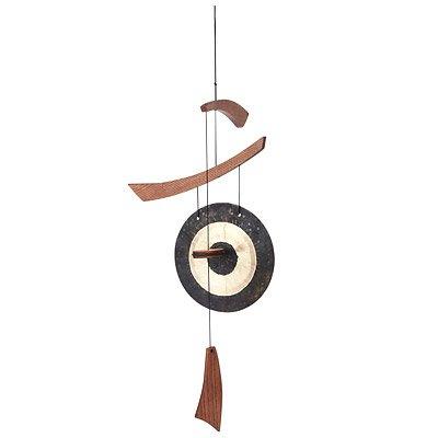 Woodstock Emperor Gong Bullseye Wind Chime