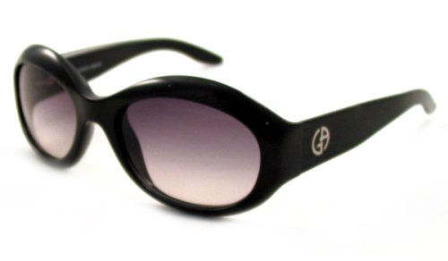 Giorgio Armani Women's Black Sunglasses with Grey Gradient - Glasses Optical Giorgio Armani