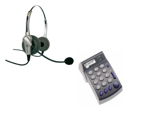 Binaural Headset with Dial Pad PD100 (Corona Extra Crystals)