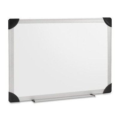 Lorell Dry-Erase Board, 6 by 4-Feet, Aluminum/White by Lorell