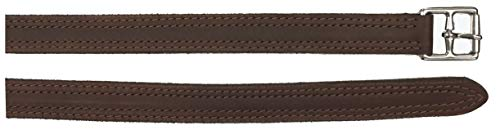 Tack Shack of Ocala Horse Racing Exercise Stirrup Leathers, Double Stitched, Reinforced with Nylon
