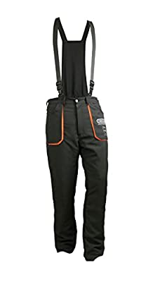 Oregon Yukon 295445/S Chainsaw Safety Protective Bib and Brace Trousers - Type A by OREGON