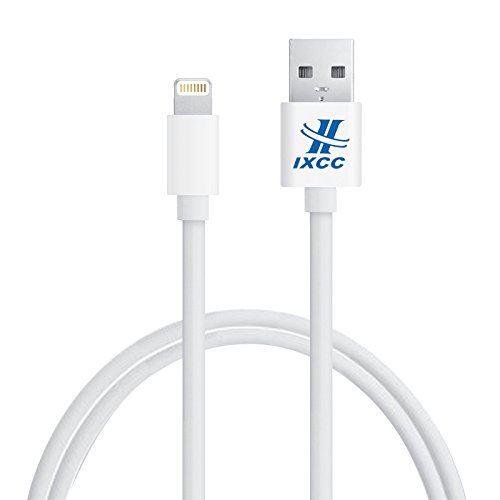 [Apple MFI Certified] iXCC® MX Defender Lightning Cable 3ft (Three Feet) 8 pin USB SYNC Cable Charger Cord for Apple iPhone 5 / 5s / 5c / iPhone 6 / 6 Plus / iPod 7 / iPad Mini / iPad 4 / iPad Air
