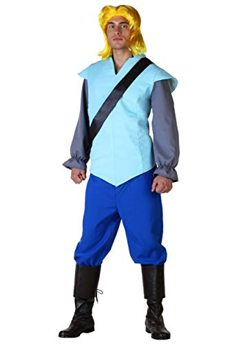 Mens John Smith Costume Medium Blue -