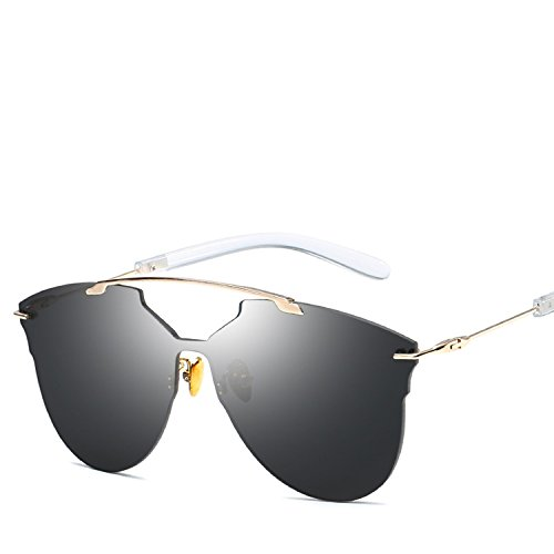 wind piece lens sunglasses men and women common personality wave ()