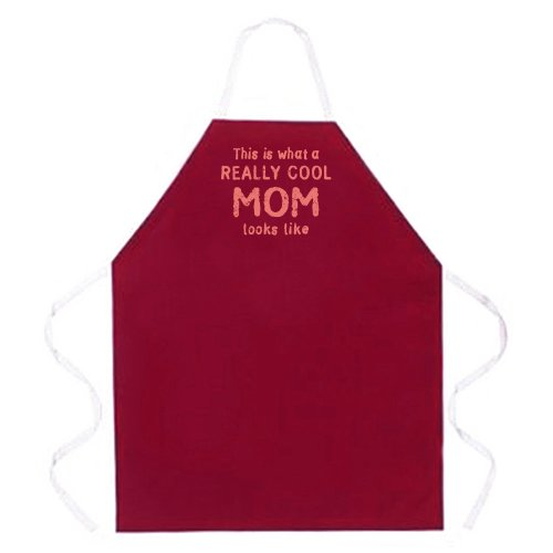 Attitude Aprons Adjustable Really Burgundy product image