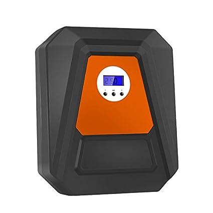 Bomba compresora de aire eléctrica de 12 V CC con pantalla digital para inflar neumáticos de