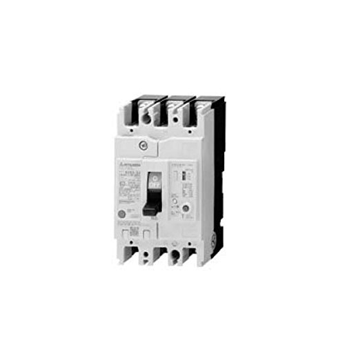 MITSUBISHI ELECTRIC NV32-SV 3P 15A 30MA Earth Leakage Circuit Breaker (Standard class) (Frame 30A) (3Poles) NN by Mitsubishi Electric
