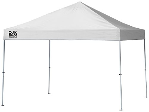 Quik Shade Weekender - Quik Shade Weekender Elite 10 x 10 ft. Straight Leg Canopy, White
