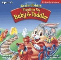READER RABBIT BABY AND TODDLER -