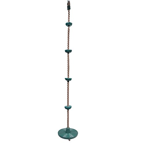Price comparison product image Barcaloo Climbing Rope with Disc Swing Seat - Playground Equipment Set
