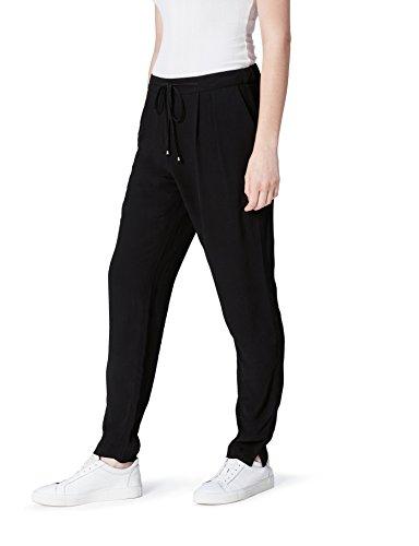 on sale 4759c c6ee5 Para black Mujer Pantalón Find Fluido Pinzas Con Negro Estilo Jogger  nOnzw0qY