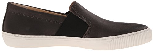 Frye Mens Miller Slip On Fashion Sneaker Carboncino