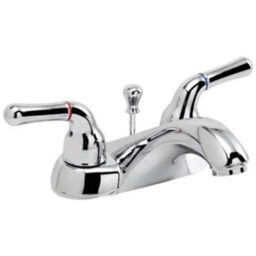 PROFLO PFWSC5240CP 1.2 GPM Centerset Bathroom Faucet - Includes Brass Pop-Up Drain Assembly by PROFLO