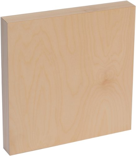 Price comparison product image American Easel 12 Inch by 12 Inch by 1 5/8 Inch Deep Cradled Painting Panel