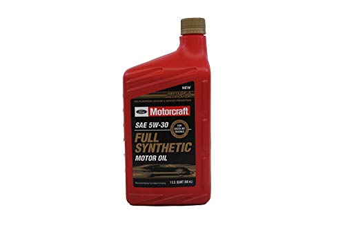 Ford Genuine Fluid XO-5W30-QFS SAE 5W-30 Full Synthetic Motor Oil - 1 Quart Bottle - Pack of 12 (12)