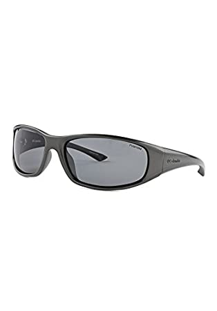 c4f28fae5585 Amazon.com: Columbia Sportswear Borrego Polarized Sunglasses,  DK.GUNMETAL/SMOKE: Sports & Outdoors