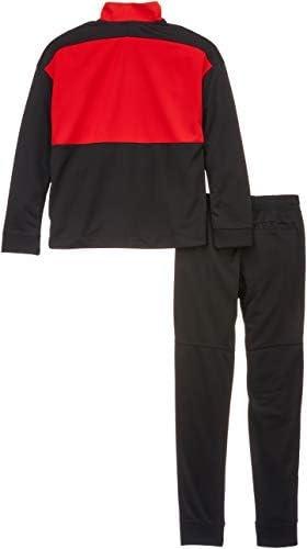 Nike 892474 - Chándal, Niños, Negro/Rojo (Black/University Red ...