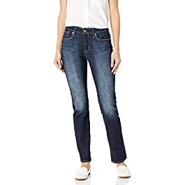 Signature by Levi Strauss & Co.  Women's Totally Shaping Slim-Straight Jean