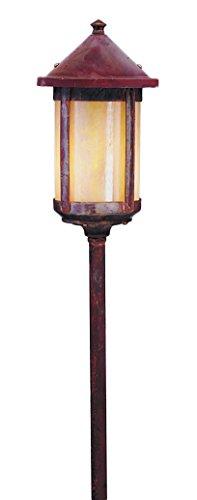 Arroyo Craftsman LV24-B6LF-RC Low Voltage Berkeley Long Body Stem Mount, 6