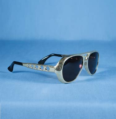 King Cool Elvis Style Sunglasses Rock n Roll - - Elvis Sun Glasses