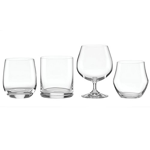 (Lenox Tuscany Classics Whiskey Glass Set (Set of 4), Clear)