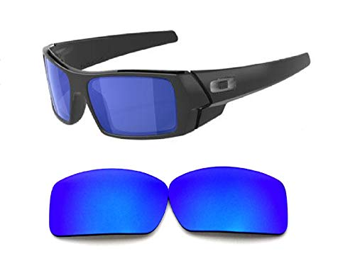 Galaxy Replacement lenses For Oakley Gascan Polarized Blue 100% ()