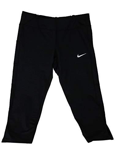 (Nike Women's Power Running Crop Leggings (Black,)