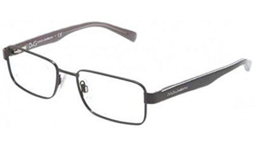 Dolce & Gabbana DG1238P Eyeglasses-1169 Black-52mm Dolce & Gabbana Mens Apparel
