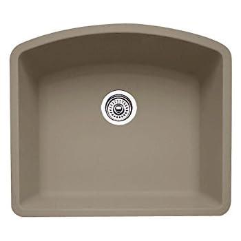 Blanco 440173 Diamond Single Bowl Silgranit Ii Sink Gray