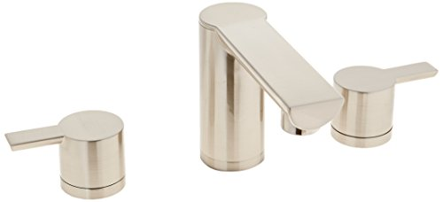 (Danze DH300677BN Adonis Two Handle Widespread Lavatory Faucet, Brushed Nickel)