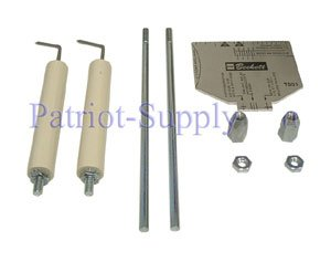 BECKETT 5780 SET OF ELECTRODES FOR AF, AFG AND SR BURNERS WITH UP TO 9